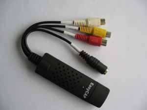 Удобный USB с DVR на 1 канала звука при записи видео