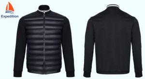 Детская одежда мужчин и вниз гибридный Куртки для спортивных программ или для использования вне помещений