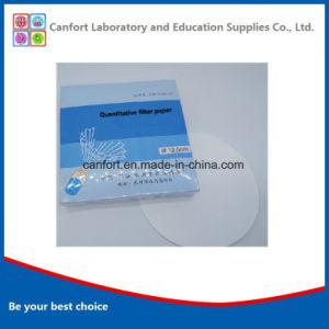 D'approvisionnement médical Papier filtre quantitatif de Haute Qualité (12.5cm) avec un bon prix