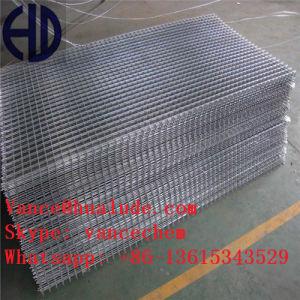 具体的な塀の4X4によって電流を通される鋼線の網パネル