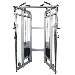 La doble polea ajustable funcional Trainer fitness, gimnasio, el equipo Body-Building