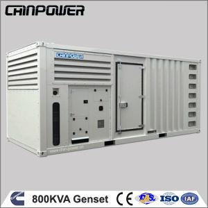 800kVA Diesel van de Macht van Cummins de Reserve Stille Reeks van de Generator met Motor Kta38-G2b