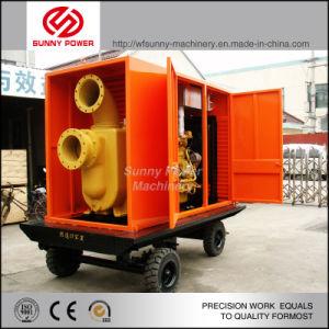 Diesel Bomba de agua accionada por motor/Motor con alta presión