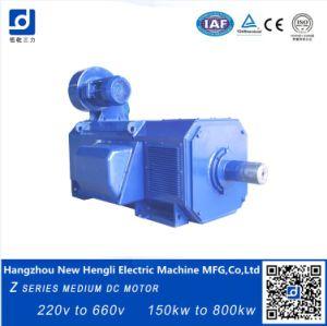 660V 1000rpm cepillado eléctrico motor DC IP23