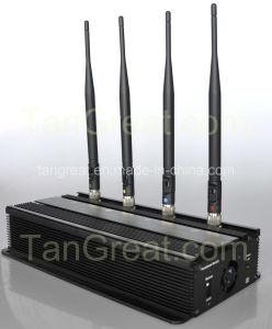 De Cellulaire Stoorzender van de Bom van het voertuig, Blokkeren het Van voertuigen van de Bom en GPS (tg-101A)