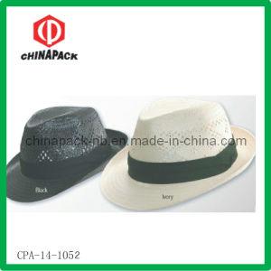 Fashion Straw Trilby Hats (CPA-14-1052)