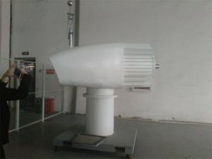 10kw generador de viento horizontal del eje 96V 120V 220V 360V con eficacia alta