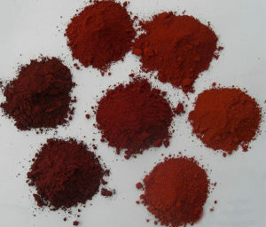 Het Rode Pigment van het Oxyde van het Ijzer van de Prijs van Competitve voor Industrie van het Glas