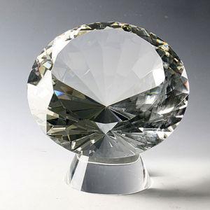 De Halfedelsteen van de Diamant van het kristal (JC0260CD)