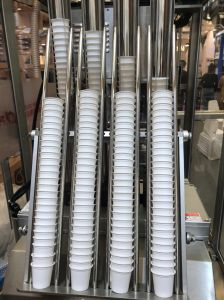 Marcação ISO cápsulas de café totalmente automática MÁQUINA DE ESTANQUEIDADE DE ENCHIMENTO