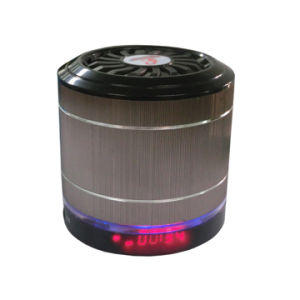 MiniBocina Recargable MP3 USB Mikro-Sd FM Auxiliar Luz LED (T-2088)