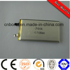 bateria de polímero de lítio íon de lítio 3.7V 430mAh as baterias do computador portátil