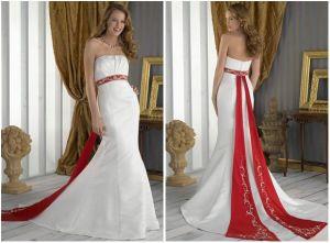 De Kleding van het Huwelijk van de elegantie & Bruids Kleding (HS962)