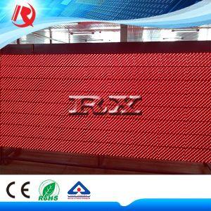 Один красный бегущего текста дисплей P10 светодиодной панели дисплея реклама светодиодный дисплей модуля