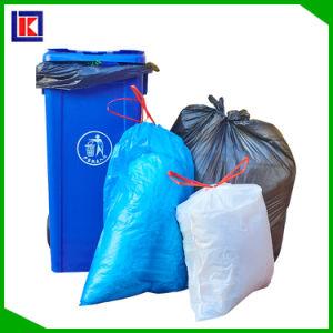 生物DegradableプラスチックEcoの友好的な世帯のごみ袋