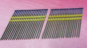Op zwaar werk berekende Spijkers 100220mm van de Strook van 21 Graden Plastic (ps-100220)