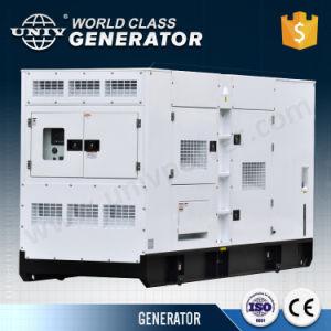 Япония Denyo конструкция двигателя Perkins 180 ква Super звуконепроницаемых дизельного генератора
