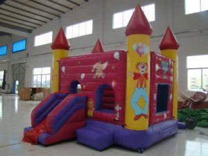 Buena calidad de castillo inflable gorila para niños