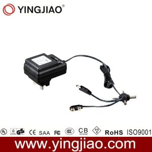 6W CC Variable Power Adapter con CE