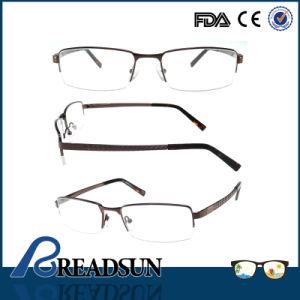 De goedkope Halve Optische Frames van het Roestvrij staal voor Mensen (OM134198)