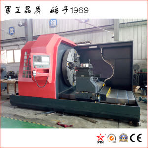 Grande tornio orizzontale di CNC per la muffa di alluminio lavorante (CK61125)