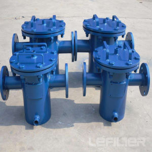 Conexión de brida de acero inoxidable o acero al carbono activo cesta filtrante