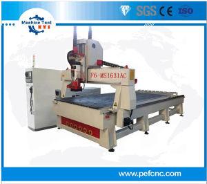 Máquina fresadora CNC de trabalho da madeira com ATC Fuso (1600mm*3100mm)