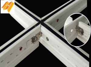 3D Black and White Groove Ceiling Suspension T Bar
