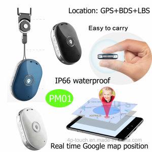 SIMのカードスロットを持つ人のための防水小型GPSの追跡者