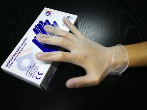 Luvas de vinil sintético barata /Fabricante Luvas de vinil descartáveis