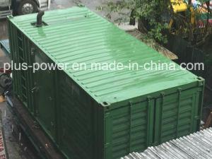 800kw/1000kVA Cummins Dieselgenerator-Set mit Behälter-Entwurf