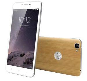 De Mobiele Telefoon van de Kern van de Vierling van 5.5 Duim 4G/Androïde Telefoon Phone/Smart met de Rugdekking van het Bamboe