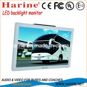 Barramento de 21,5 polegadas TV a cores do monitor de LCD do carro