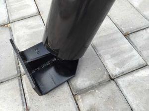 Canaleta do transportador do lado do transportador de correia da polia intermediária/rolete guia