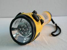 Linterna LED para Camping sirena