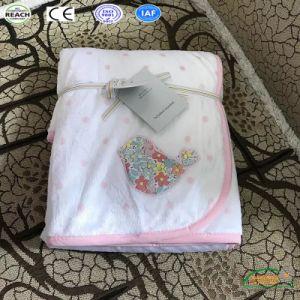ليّنة دافئ بوليستر صوف جدي رمي طفلة غطاء حديث ولادة