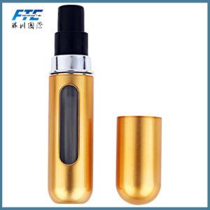 5ml llenar la botella de cristal de perfume Atomizador de aluminio