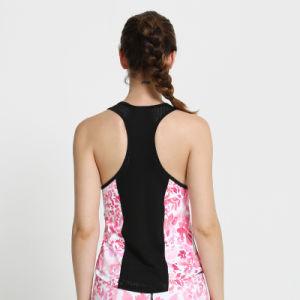 女性昇華継ぎ目が無い下着のスポーツの摩耗の体操のタンクトップのベスト