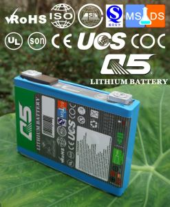 Litio-Ion Rechargeable dell'O2 Polymer di Lithium LiFePO4 Li (NiCoMn) delle batterie di 3.7V40Ah Industrial Lithium