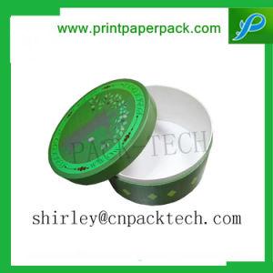 Het douane Afgedrukte Vakje van het Document van de Giften van de Juwelen van Kraftpapier van de Kleur Cilindrische