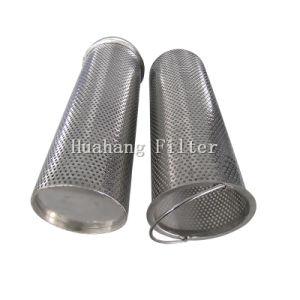 Tubi perforati tessuti porosi del metallo dell'elemento filtrante della rete metallica dell'acciaio inossidabile