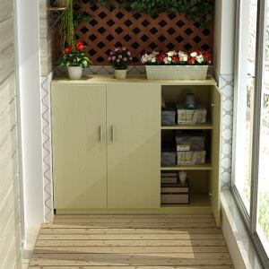 Kundenspezifischer Panel-Möbel-Schuh-Kasten, Schuh-Regal, Speicherschrank, Bruch