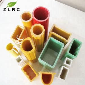 Pultruded Perfil de fibra de vidrio, plástico reforzado con fibra de alta resistencia Gfrp Perfil de forma estructural