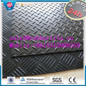 スリップ防止床のマットまたは耐火性のゴム製フロアーリングまたはスリップ防止ゴム製フロアーリング