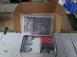 Portable solar 10W Sistema de iluminación del hogar con la Radiio 7500mAh Batería de litio