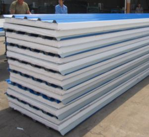 Roofing를 위한 EPS Insulation Panels