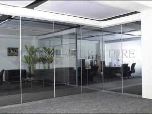 Muro divisorio libero superiore dell'ufficio di vetro Tempered (SZ-WST771)