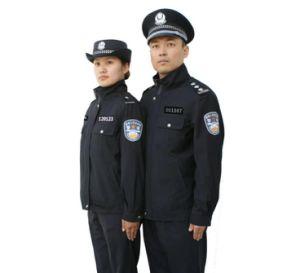 人および女性(UFM130318)のための反しわの警察のユニフォーム