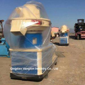 Los residuos agrícolas peletizadora de tallos de maíz de hierba prensa de pellet biomasa