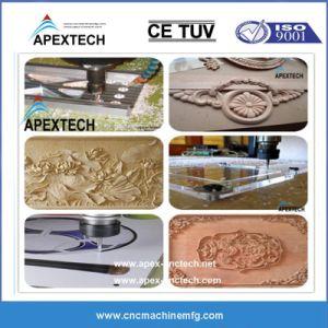 木工業のための5X10フィート4の軸線3D CNCのルーター機械